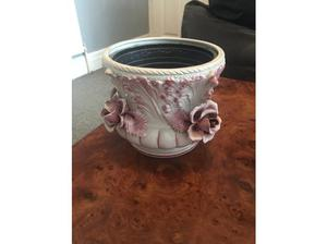 Pink rose plant pot in Manchester