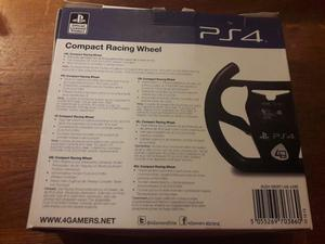 BRAND NEW 4Gamers Compact Racing Wheel (for PS4)