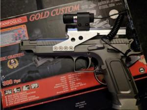 BRAND NEW BOXED TANFOGLIO GOLD CUSTOM + FREE LASER SIGHT in