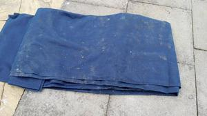 Blue AWNING ground sheet