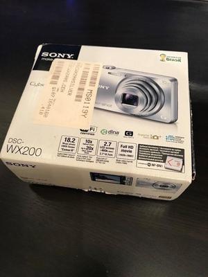 Brand New Boxed Sony Cybershot Digital Camera PLUS Memory Card