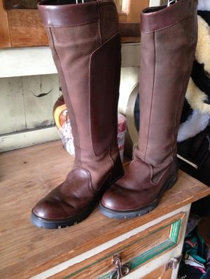 Dubarry country riding boots size 7