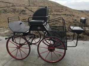 Four wheel carriage cart by ECC