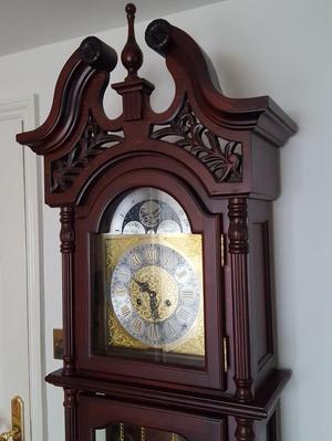 Reproduction Bronzed Or Mole Clock Quartz Posot Class