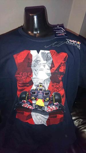 Max Verstappen hand signed Red bull Spielberg F1 shirt with Coa