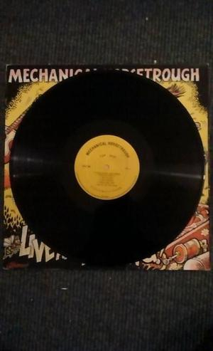 """Mechanical Horsetrough """"Live and Kicking"""" Vinyl Record"""
