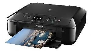 NEW CANON MG ALL IN ONE WIRELESS PRINTER + CANON INK + COMPATIBLE INK SMART PRINT 12 MTHS WRNTY