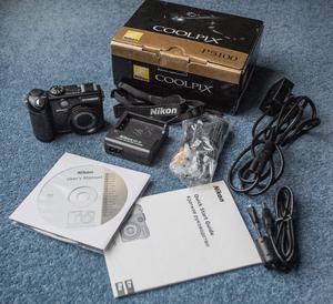 Nikon Coolpix MP compact digital camera and accessories