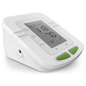 Parcura Upper Arm Blood Pressure Monitor White
