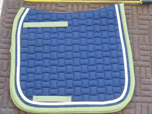 Quilted Saddle pad by BR Bronco dressage - cob size P+P £3