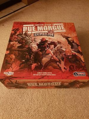 Zombicide Season 3: Rue Morgue board game set