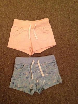 2 Pairs age 2-3 shorts