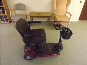 3 wheel go go elite traveller mobility scooter for sale in