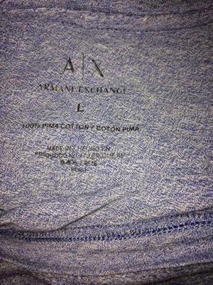 Blue Armani exchange t shirt brand new