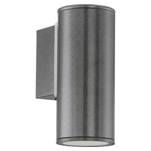 EGLO Outdoor LED Wall Light Riga Anthracite