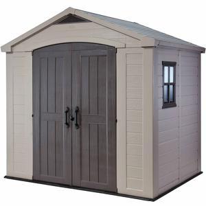 Keter Garden Storage Shed Factor 86 (8x6) Beige