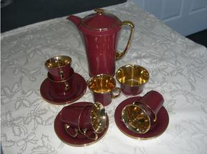 Vintage 15 piece China coffee set - Art Deco in Newcastle