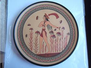 Achilles Hand Made & Painted plates in Paignton