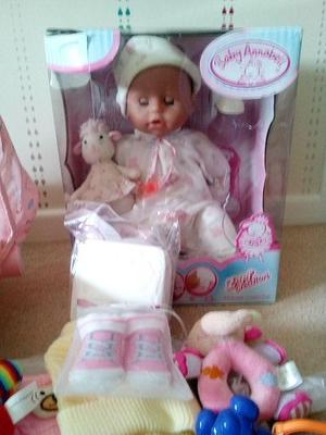Baby Annabell version  and accessories
