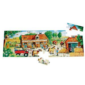 Beleduc Pony Farm Floor Puzzle