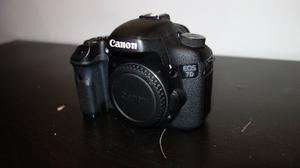 CANON 7D Body only,  shutter count
