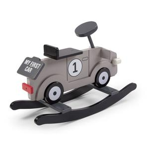 CHILDWOOD Rocking Car My First Grey and Black CWRFCG