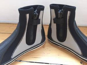 Dinghy Sailing boots. Rooster dinghy boots size 41 (UK 6.5).