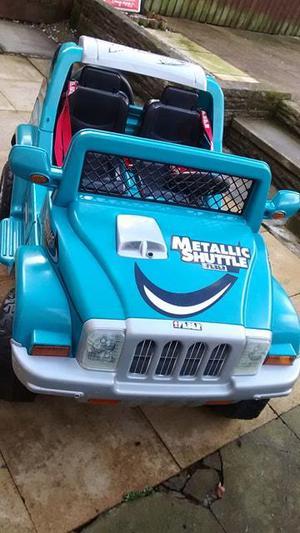Feber Metallic Shuttle 6V ride on childrens jeep