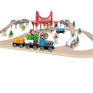 Hape Double Loop Railway Set E