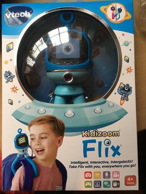 Kids vtech flix interactive camera toy