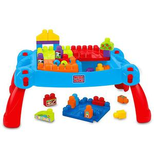 Mega Bloks First Builders 30 Piece Build'n Learn Table CNM42