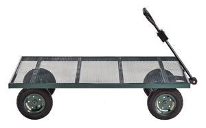 Sandusky Lee FW Green Heavy Duty Steel Flat Wagon, 800