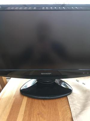 "Sharp 19"" lcd tv"