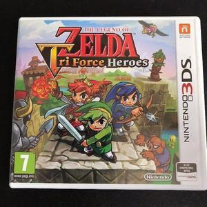 The Legend of Zelda: Tri Force Heroes - Nintendo 3DS + 2DS Game Fun Kids Childrens Triforce Like New