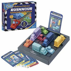Thinkfun Traffic Jam Logic Game Rush Hour Deluxe