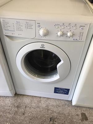White 6kg  Spin Indesit Washing Machine Fully Working Order Just £75 Sittingbourne