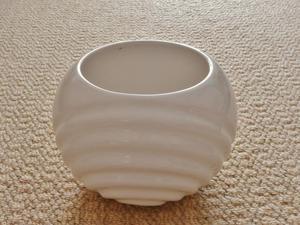 White Ceramic Pottery Indoor Plant Flower Pot Planter Holder