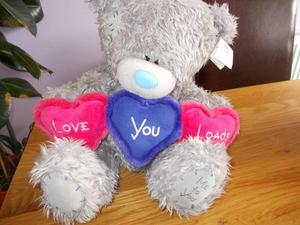 me to youtatty teddy love you loads