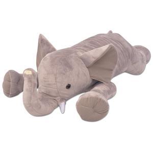 vidaXL Plush Cuddly Toy Elephant XXL 95 cm