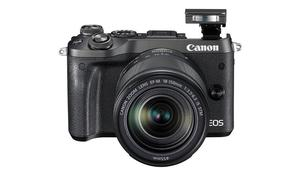 Canon M6 Mirrorless Camera with EF-M  mm Lens