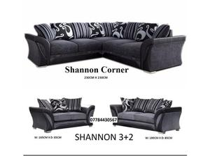 Corner Shannon sofa or 3+2 sofas on sale plus lots more to