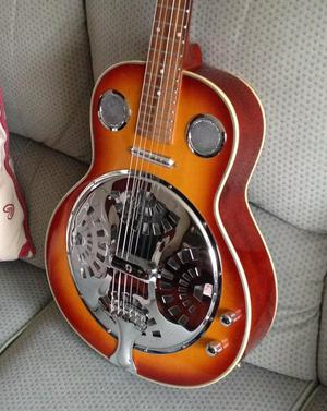 Electro-acoustic Resonator guitar