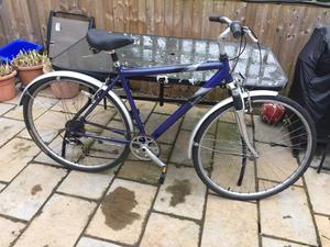 """Men's 21"""" Raleigh pioneer hybrid bike bicycle. Delivery & D lock available"""