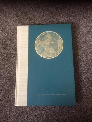 Old book. Readers Digest World Atlas