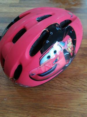 Red Cars child's bike helmet