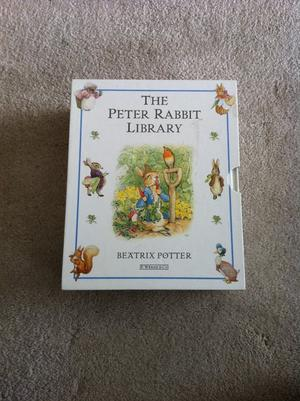 Set of 10 Peter Rabbit books in presentation box