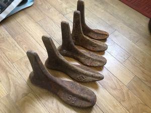 Set of 5 Cobblers Lasts