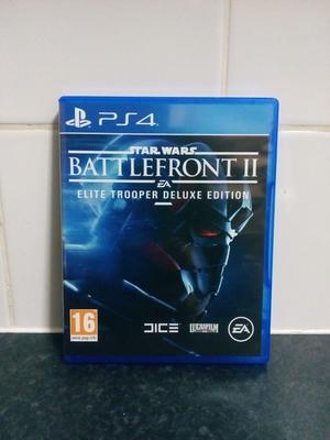 Star Wars Battlefront II Elite Trooper Deluxe Edition Playstation 4 Game PS4