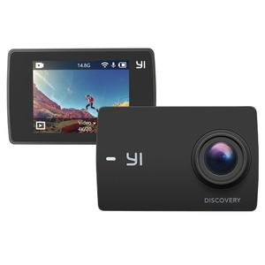 Yi Discovery Action Camera 4K Wifi Sports Cam LCD Touchscreen NEW