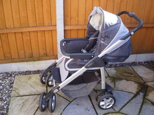 silver cross pushchair front and rear facing
